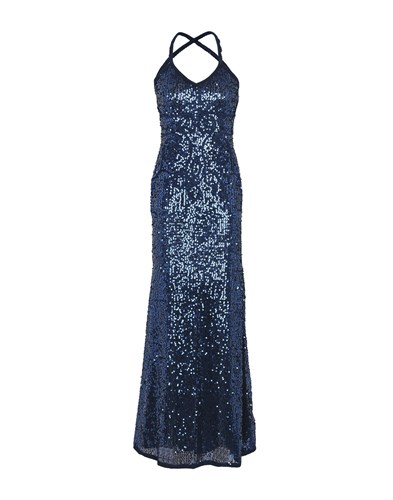 Sonia Fortuna Long Dresses Dark Blue QnDG6Dv