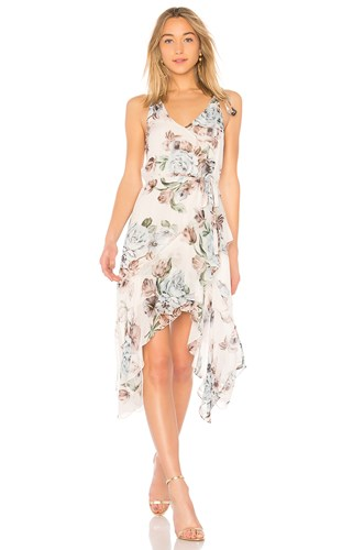 Lover Posy Slip Dress Ivory WRAwv3YgDi