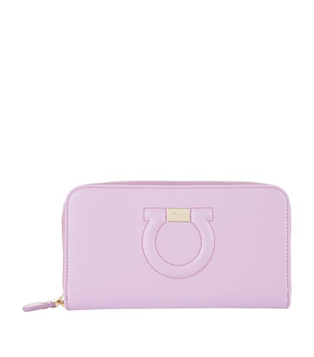 Salvatore Ferragamo Gancio City Leather Purse Pink 0gKCw