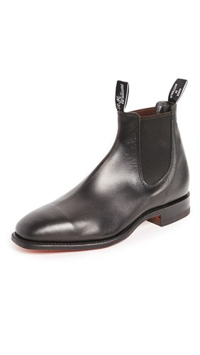 R.M. Williams Classic Rm Leather Chelsea Boots Black bt7rUJqB8z