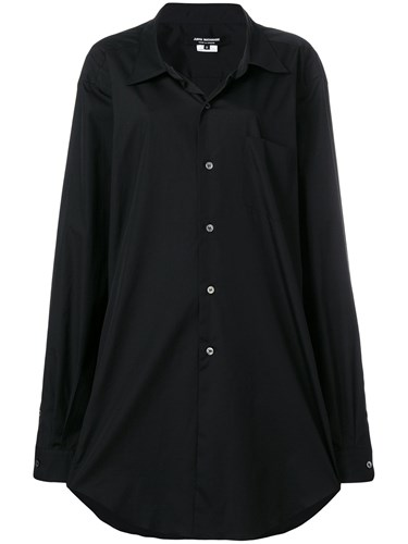 Junya Watanabe Oversized Shirt Dress Black mndjPbjd