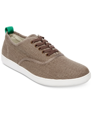 Steve Madden Men's Fauster Canvas Sneakers Men's Shoes Taupe Fto1Mml