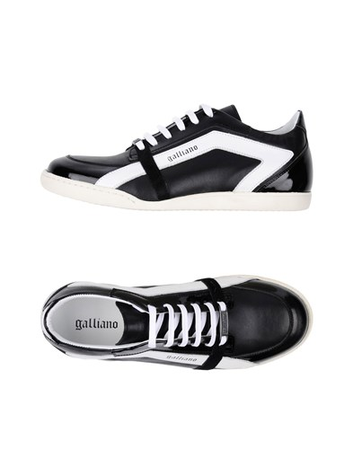Galliano Footwear Low Tops And Sneakers Black USwbVo