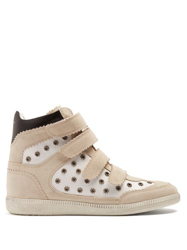Concealed White Bilsy Suede Wedge Isabel Marant Trainers 4w7EqBPAxW