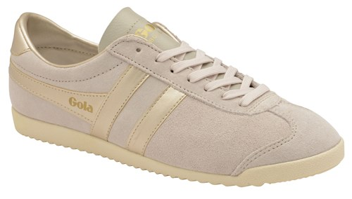 Gola Bullet Pearl Lace Up Trainers Rose Gold k5QHk