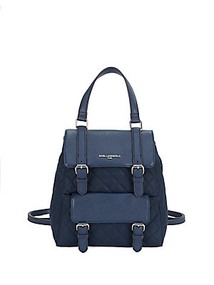Karl Lagerfeld Georgina Backpack Navy EamHmYk2qN