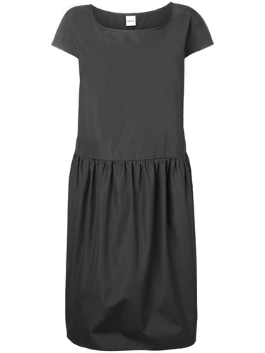 Shift Short Sleeved Dress Grey