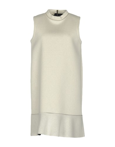 Marni Short Dresses Light Grey ycfz5