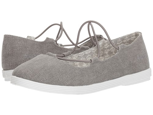 Blowfish Gastby Pewter Rancher Canvas Shoes Gray 9q2tyak