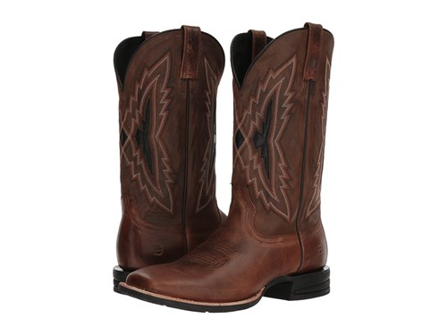 Ariat Relentless Top Notch Bar Room Brown Weathered Brown Cowboy Boots rDWxoW