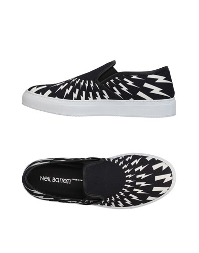 Neil Barrett Footwear Low Tops And Sneakers Black 3hHf4C0P3