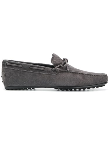 Tod's Gommino Driving Shoes Grey ANMviRPJxL