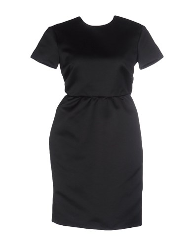 Rochas Short Dresses Black jjenw9h