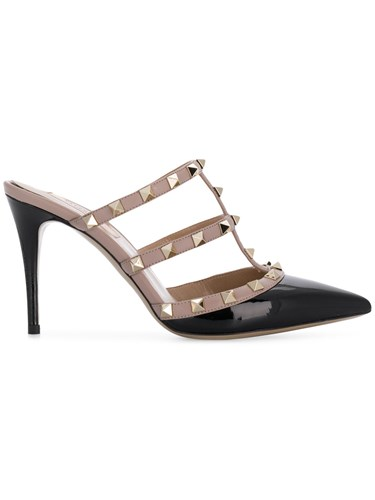 On Pumps Rockstud Slip Black Valentino xqHCAwv0W