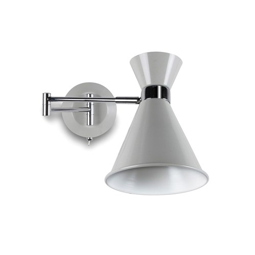 Pelham Wall Mounted Light Chalk