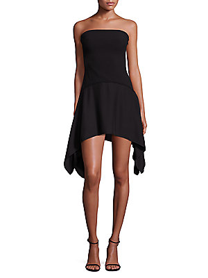 Likely Wentworth Strapless Dress Black HYDkF