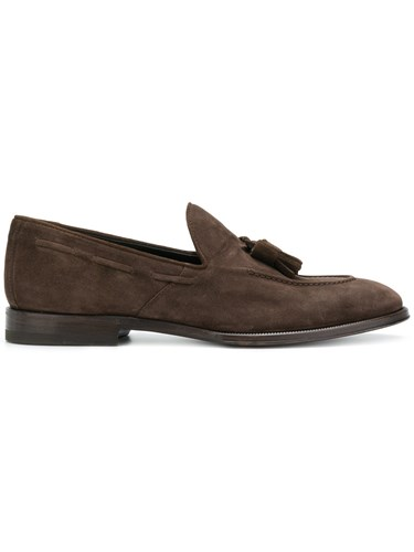 Henderson Baracco Tassel Front Loafers Brown QOS3oW774q
