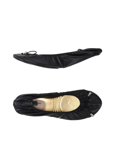 Cocorose London Ballet Flats Black asoeWBLj