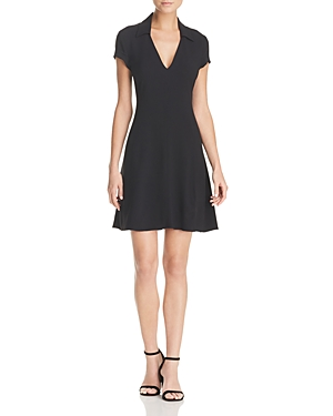 Theory Easy Day Dress Black 44B8AdjXgb