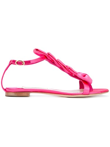 Olgana 'Delicate' Sandals Women Leather 39 Pink Purple 62hnh5k9a