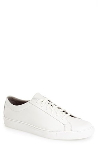 TCG Men's 'Kennedy' Leather Sneaker White JvN9bMQsg