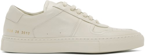 Common Projects Grey B Ball Low Sneakers GeK2P8hVas