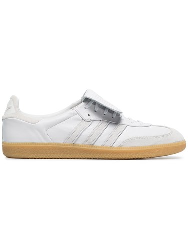 adidas White Samba Recon Lt Leather Sneakers Black aXS2kR86y