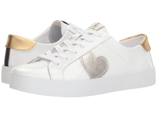 ED Ellen DeGeneres Gillen Pure White Pure White Crinkle Patent Crinkle Patent Lace Up Casual Shoes WBpGz