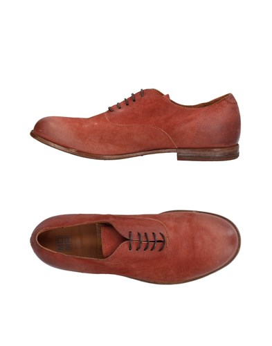 Moma Lace Up Shoes Brick Red 2pF0tKdB