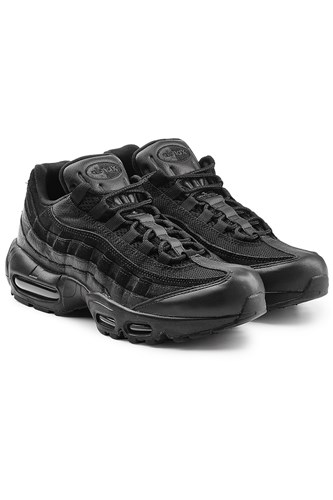 Nike Air Max 95 Premium Sneakers With Leather Black Tw7Fp