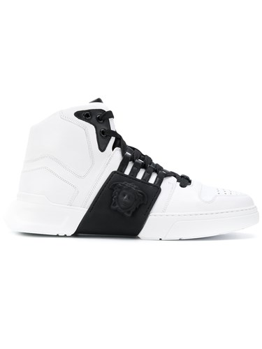 Versace High Top Sneakers White O6jCD891F5