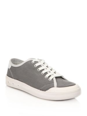 Rag and Bone Standard Issue Canvas Sneakers Grey Black sO23dSM