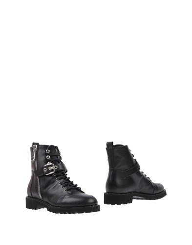18 KT Ankle Boots Black sU9ii