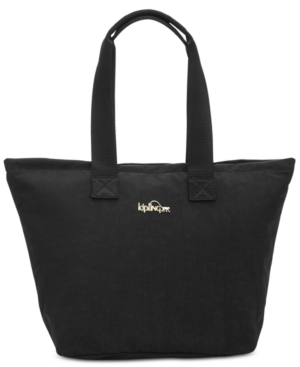 Large Insulated Kipling Tote Lunch Niamh Black 4vngx6qE