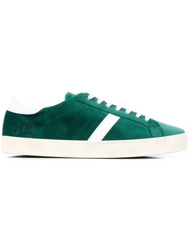 D.A.T.E. Lace Up Sneakers Green