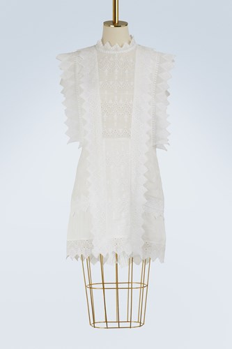 Isabel Marant Nubia Dress White exY3V