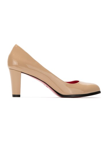 Pumps And Patent Neutrals Nude Leather Zeferino BpHFq0WF