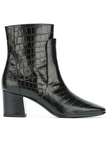 Boots Crocodile Black Effect Givenchy Embossed pqPw6tHXn