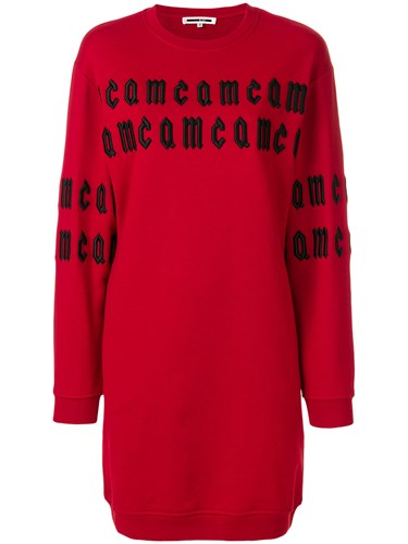 McQ by Alexander McQueen Sweater Dress Red ExtUguUx