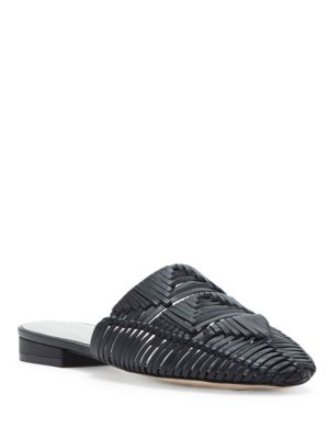 Flat Syre Mules Black 1 Leather State qznWatO
