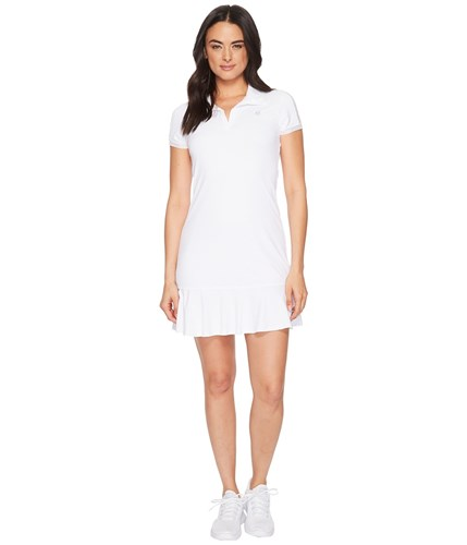 Eleven by Venus Williams Pique Collection Swing Dress White FioIBw0