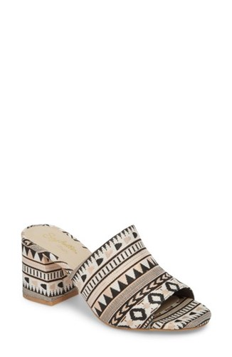 Seychelles Commute Mule Tribal Metallic Fabric 47aHk3N