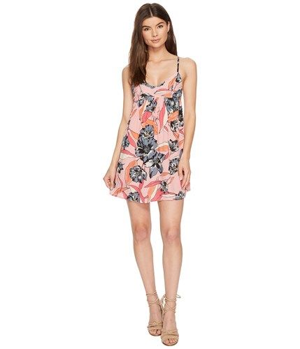 Billabong Florida Fever Dress Faded Rose Pink 6aBwQ9