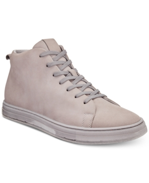 Kenneth Cole New York Men's Colvin High Top Sneakers Men's Shoes Light Grey h852x5r