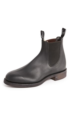 R.M. Williams Gardner Leather Chelsea Boots Black aW1Ep