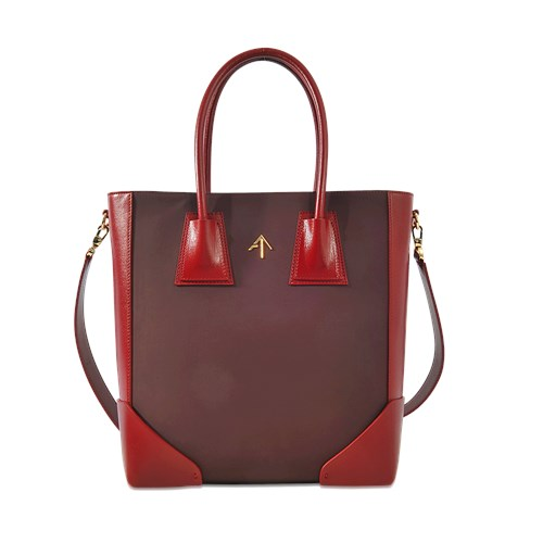 MANU Atelier Tote Bag In Scratch Proof Leather THQnhh