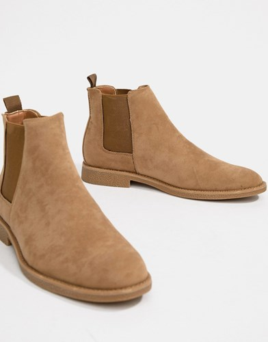 New Look Chelsea Boots In Light Stone RfcxoZAxCD