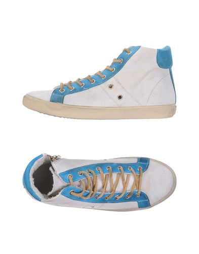 Sneakers Leather Crown Sneakers White White Leather Leather Crown Crown 0fnq5Zxw