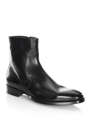 To Boot Roosevelt Leather Boots Black hcSfuF