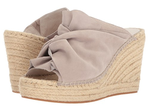 Kenneth Cole New York Odele Mauve Suede Wedge Shoes Pink uncgM7f